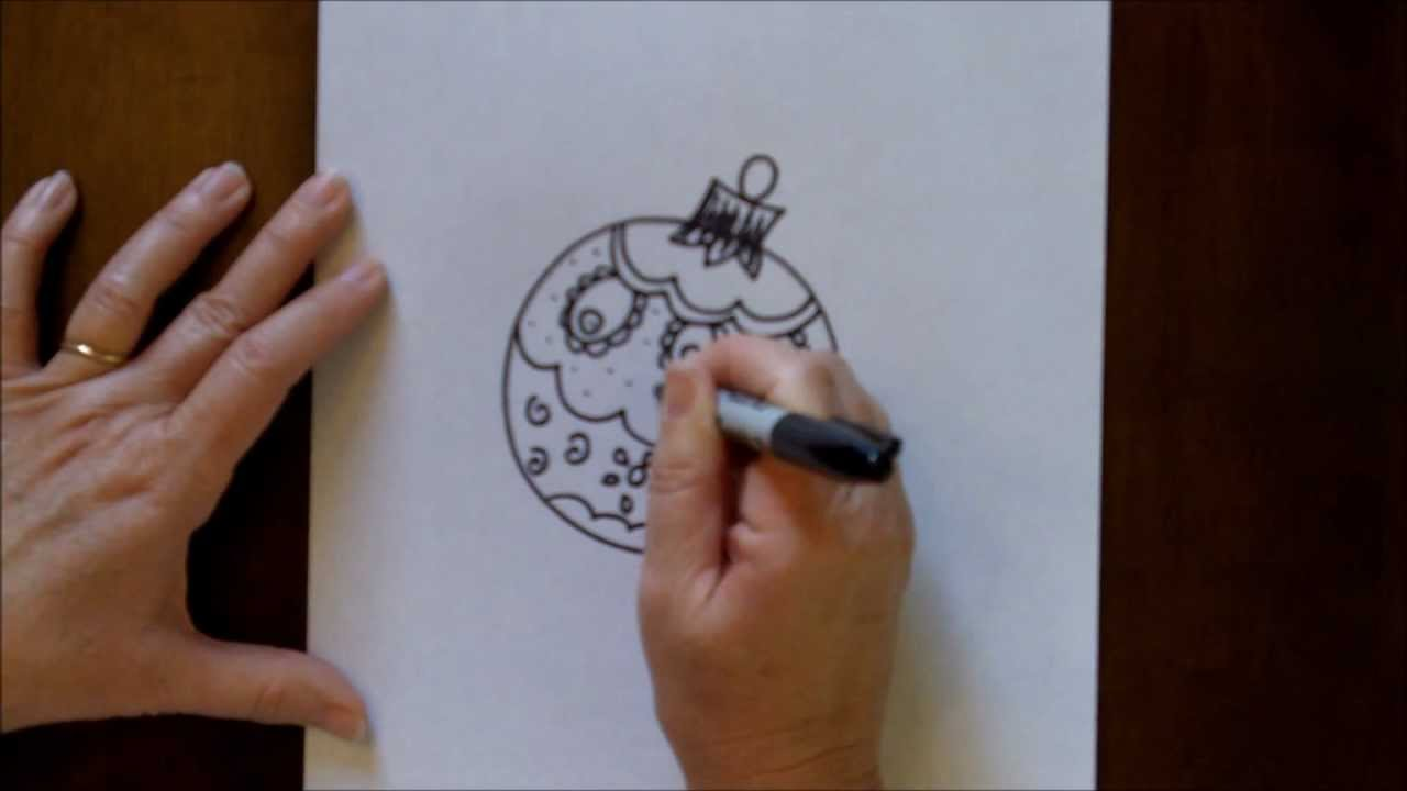 Ornament Easy Step By Kids Drawing Tutorial Lesson YouTube