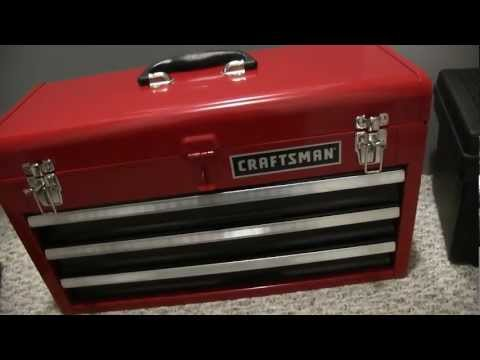 My New Craftsman Tool Box and Tools