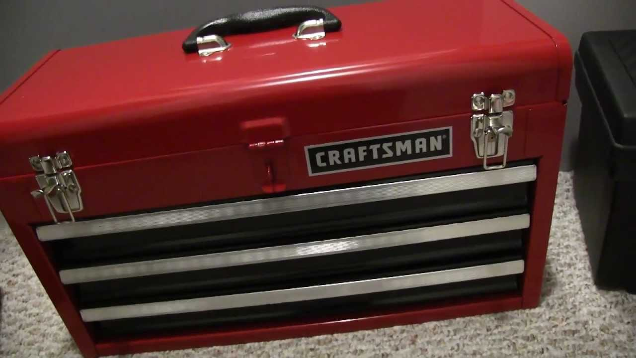My New Craftsman Tool Box And Tools   YouTube