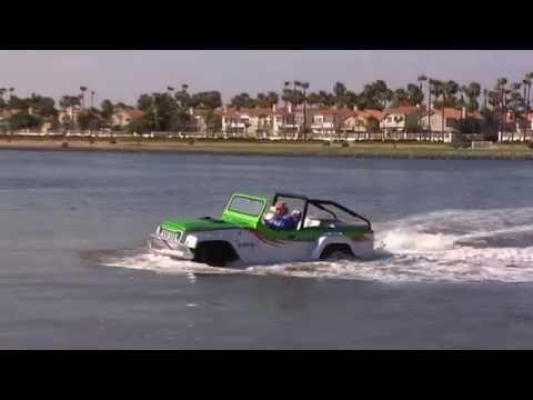 Watercar: Schnelles Amphibienauto an Land und zu Wasser