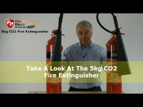 Take A Look At The 5kg CO2 Fire Extinguisher