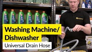 Universal Drain Hoses for Washing Machines and Dishwashers