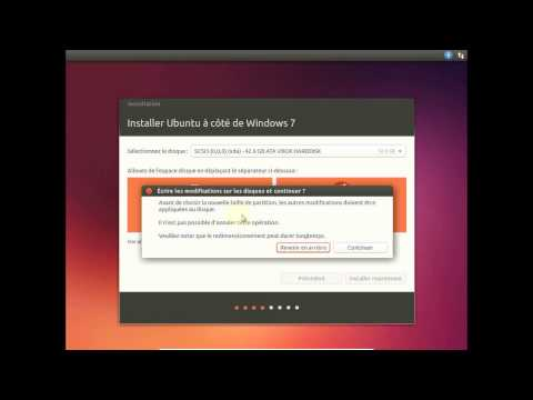 Installer Ubuntu Côte à Côte Avec Windows