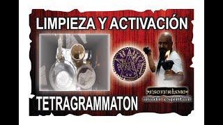 COMO LIMPIAR Y ACTIVAR LA MEDALLA DE TETRAGRAMMATON (Ritual)
