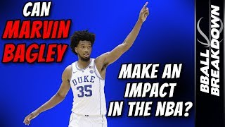 2018 NBA Draft: Can Marvin Bagley Make An Impact Early?