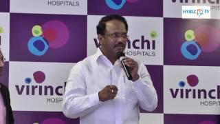 Laxma Reddy Telangana Health Minister Launches Virinchi vConnect Healthcare App