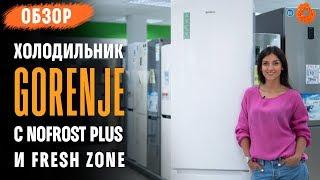 Gorenje NRK 6202 GHW4 - обзор холодильника с NoFrost Plus и Fresh Zone
