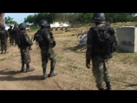 Cameroonian army fights Boko Haram near Nigerian border