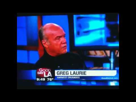 Greg Laurie interview with LA Fox Morning News