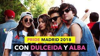 PRIDE MADRID CON DULCEALBA + DESFILE PALOMO SPAIN - The Tripletz