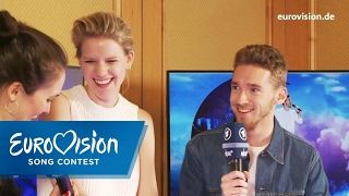 Speed-Dating mit Levina und Nathan | Eurovision Song Contest | NDR