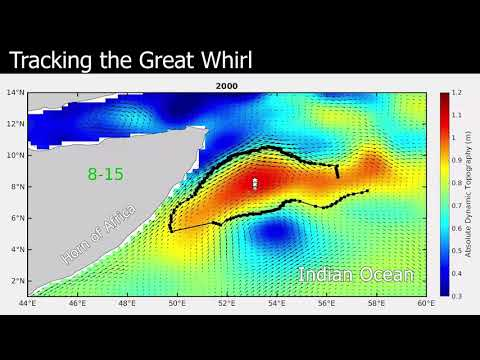 Scientists track the Great Whirl from space