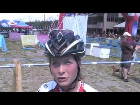 2010 MTB XC Nationals - Emily Batty Interview