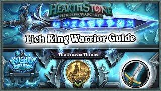 Hearthstone: Defeating Lich King Boss Guide - Standard Warrior Deck