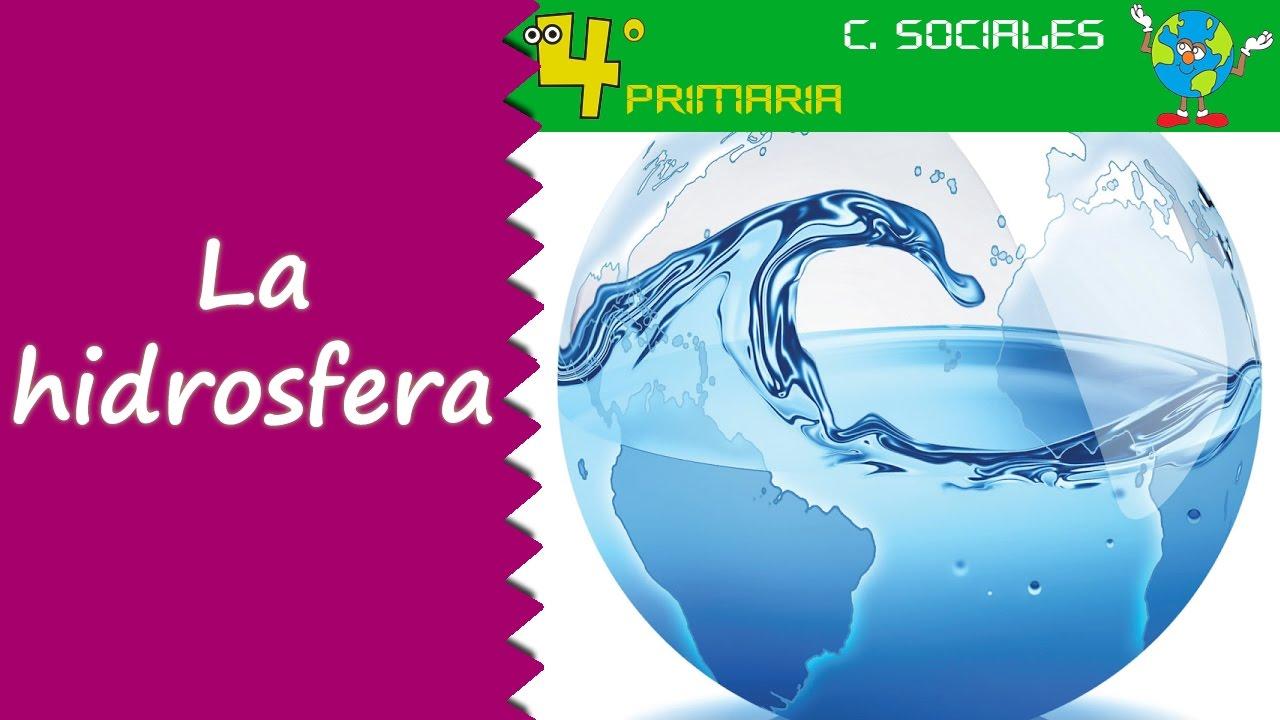 Ciencias Sociales 4º Primaria Tema 3 La Hidrosfera Youtube