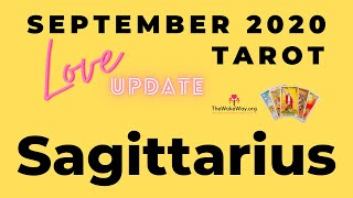 SAGITTARIUS | This is worth every effort you put in! | SEPTEMBER 2020 LOVE | LIVE TAROT READING