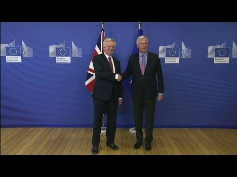 Britain, EU begin Brexit negotiations