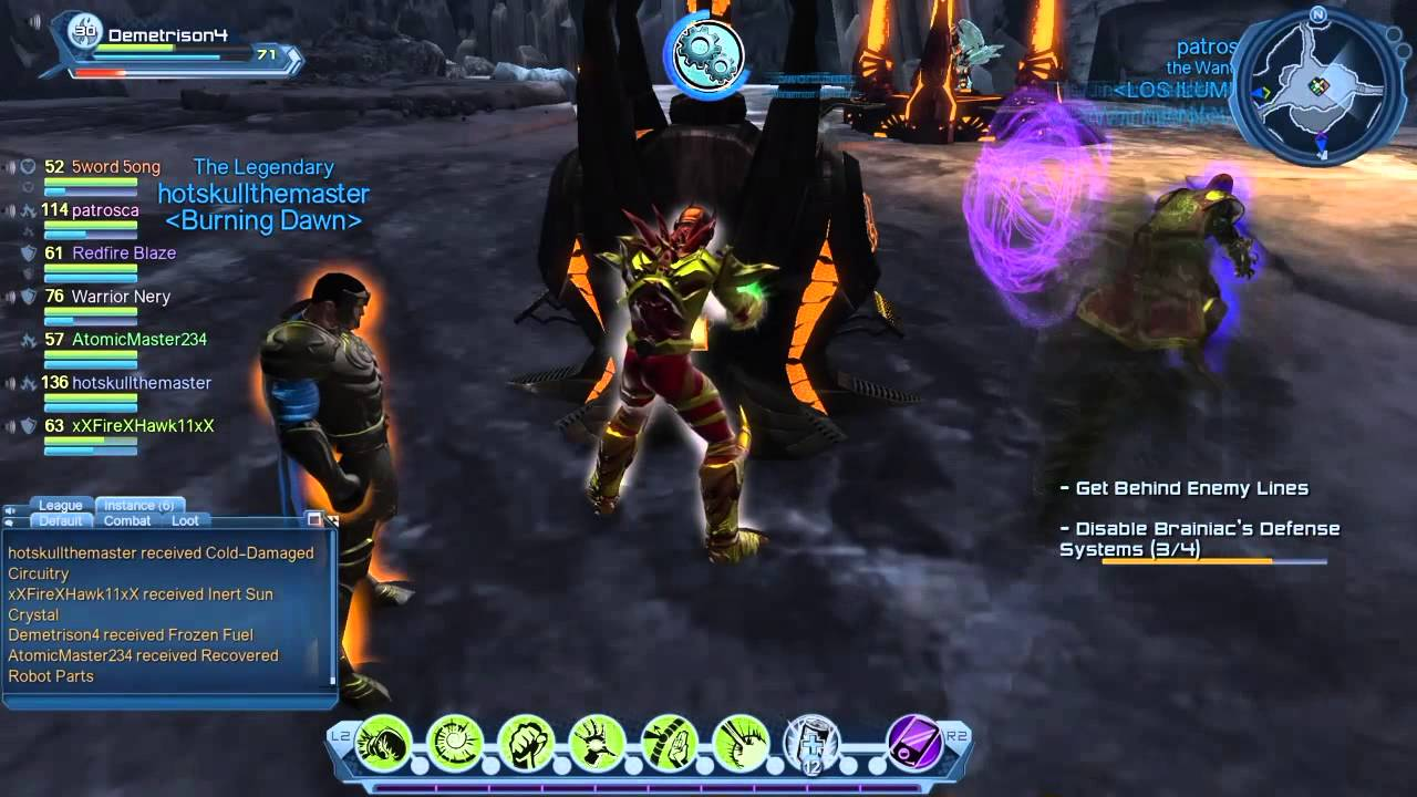 how to stop flying in dc universe ps4