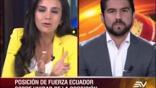 Entrevista en Contacto Directo-  Ecuavisa sobre panorama electoral 2017