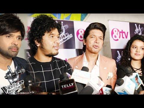 Voice Of India Kids Season 2 Show Launch | Shaan, Palak Muchhal, Papon, Himesh Reshamiya  Interview