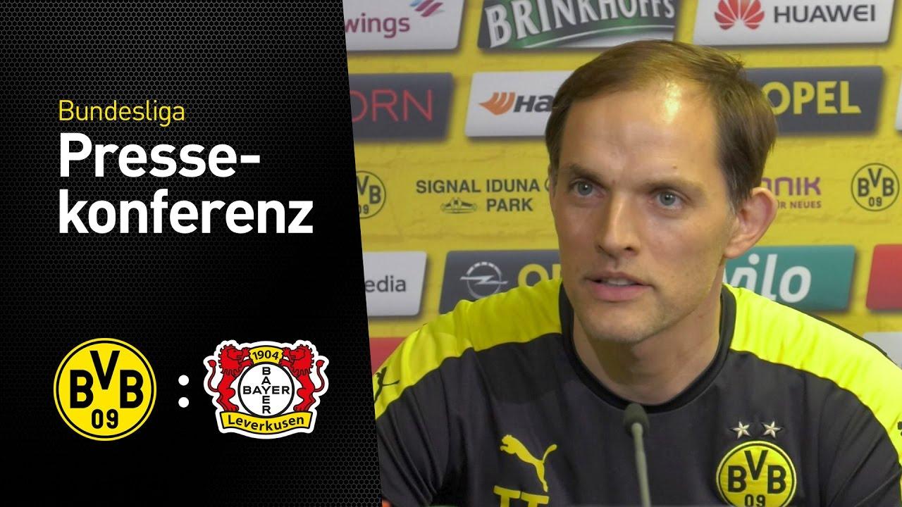 PK vor dem Spiel gegen Leverkusen | BVB - Bayer 04 Leverkusen