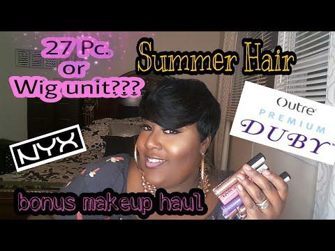 Short & Sassy Summer Hair(Pixie Flare)/Makeup Haul