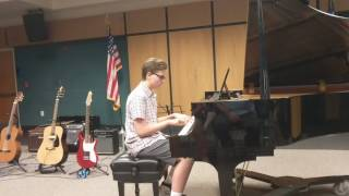 "Ryan Wieseler playing ""I Can't Decide"""