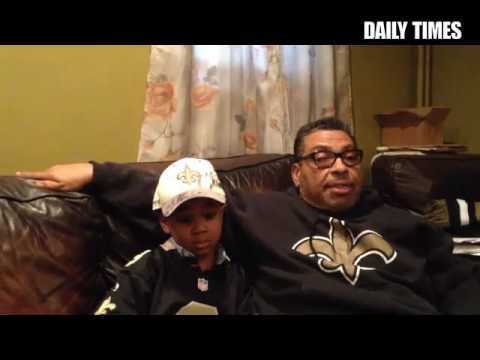 New Orleans native Kyle Davis of Chester talks about the impact the Saints had post-Katrina.