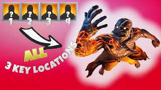 "ALL 3 Key Locations For ""The Prisoner"" Skin! 