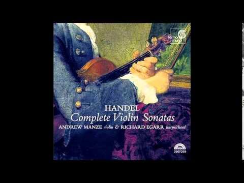G.F. Handel Violin Sonatas, A.Manze, R.Egarr