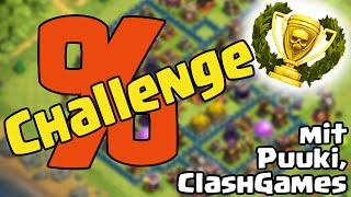PROZENTE CHALLENGE MIT PUUKI UND CLASHGAMES/// Let's Play /// Clash of Clans /// German/Deutsch