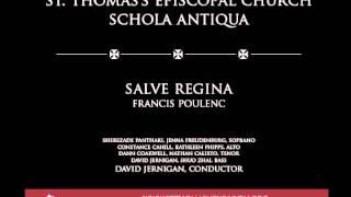 Salve Regina, Francis Poulenc