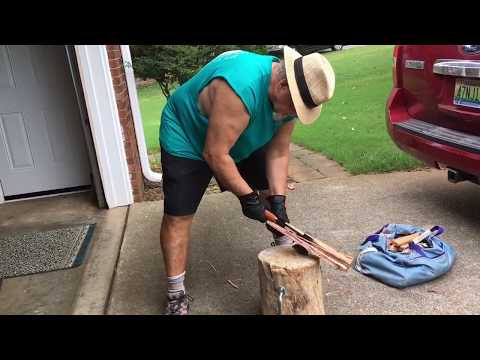 Firewood Processing & Axe Safety 2