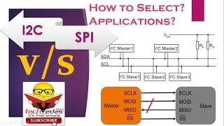 Difference Between I2C and SPI Protocol | I2C vs SPI