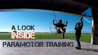 A Look INSIDE Paramotor Training Lessons