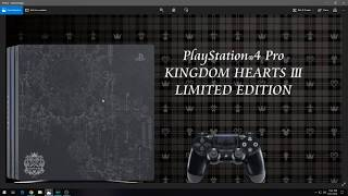 KINGDOM HEARTS III - LIMITED PLAYSTATION 4 PRO & SPECIAL EDITION BUNDLES!
