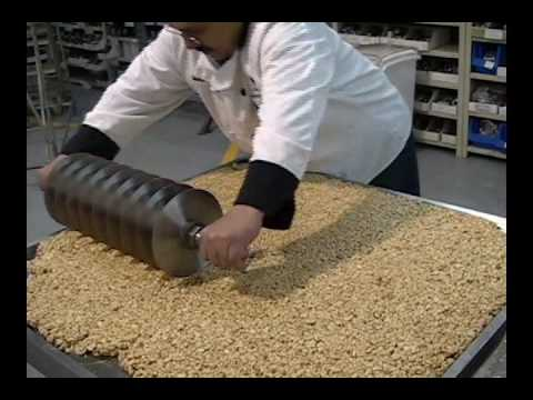 Savage Bros Cooling Table - Cutting A Batch