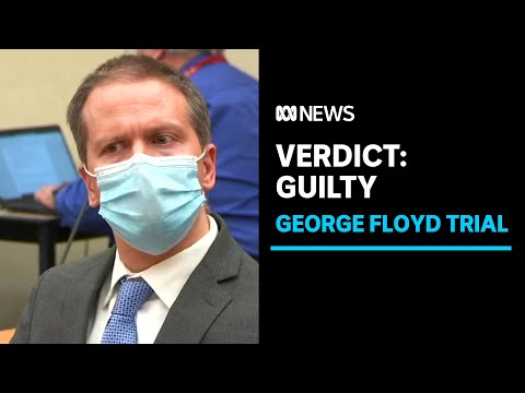 As it happened: Former police officer Derek Chauvin found guilty of George Floyd's murder | ABC News