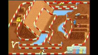 Super Off Road SNES Gameplay Super Nintendo