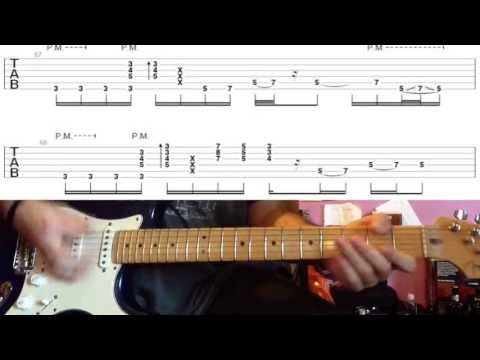 John Mayer - Something Like Olivia (acoustic Blues Version) - Guitar Lesson