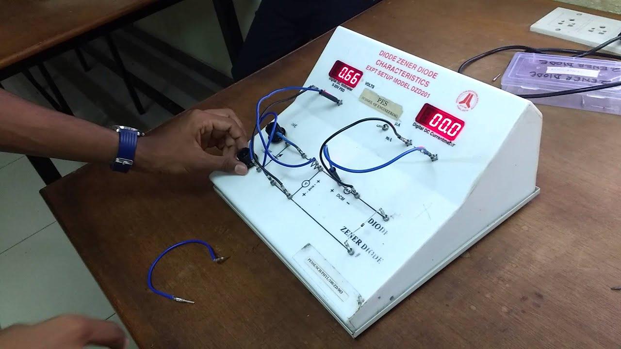 vtu physics lab zener diode experiment youtube rh youtube com Physics Lab Experiments Manual Loyd Physics Lab Manual