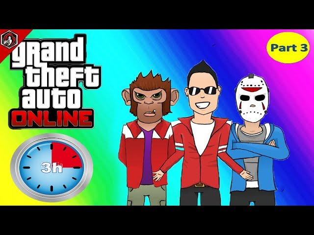 VanossGaming 3 Hour of Grand Theft Auto V | Part 3