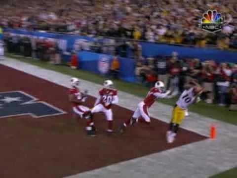 Santonio Holmes Steelers Super Bowl Game Winning TD NFL.com