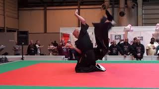 Ishin Ryu Jujitsu at the Martial Arts Show 2011 (Andy and Dell)