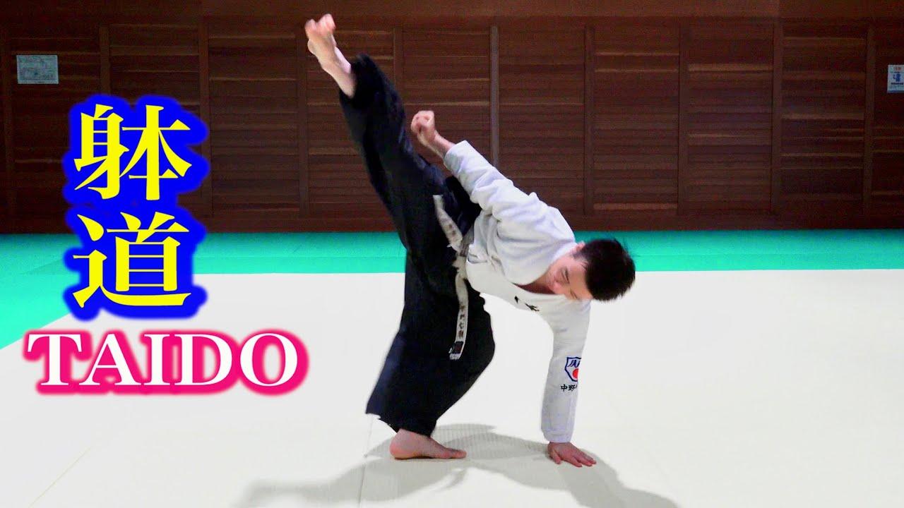 躰道の凄技に特別な身体能力はいらない! 【TAIDO】Principle of manipulating the body, Tetsuji Nakano