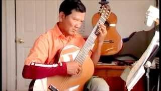 Chieu TIm (Purple Evening) -Music by Dan Tho. Arr. guitar by Tran van Phu