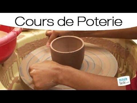 Poterie : Faire Un Bol Sur Un Tour De Potier - Youtube