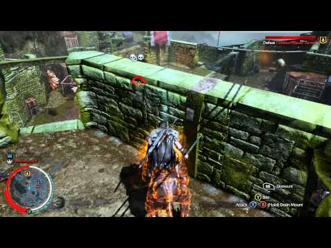 Shadow of Mordor Lord of the Hunt DLC - Walkthrough Part 1: Call of the Caragath