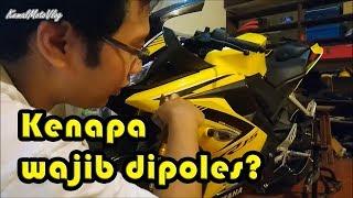 MotoVlog #85 - Motor baru wajibkah dipoles?