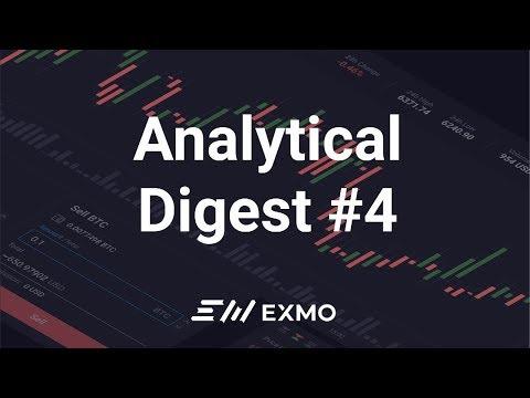 EXMO Analytical Digest #4 | Рост Биткоина и другие новости рынка криптовалют